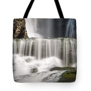 Dingmans Falls Close Up Tote Bag