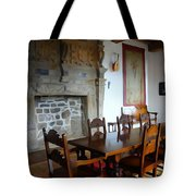 Dining At Donegal Castle Tote Bag