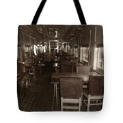 Dining Car Tote Bag
