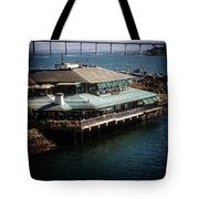 Dining On The Bay Tote Bag