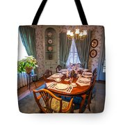 Dining Room And Dinner Table Tote Bag