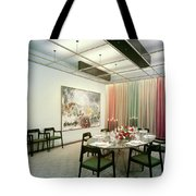 Dining Room In Mr. And Mrs. Williams A.m Tote Bag