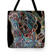 Dinka Warrior Tote Bag by Gloria Ssali