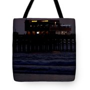 Dinner At The Pier Tote Bag