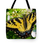 Dinner For The Swallowtail Tote Bag
