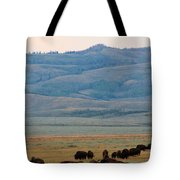 Dinner In The Bushes Tote Bag