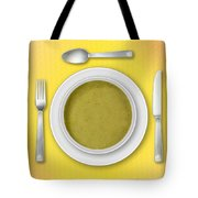 Dinner Setting 02 Tote Bag