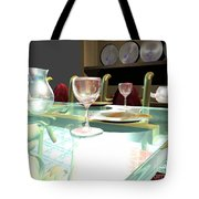 Dinning Table Tote Bag