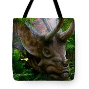 Dino In The Bronx Five Tote Bag