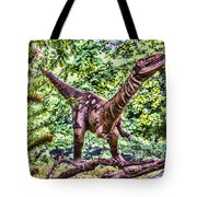Dino In The Bronx One Tote Bag