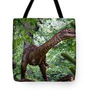Dino In The Bronx Three Tote Bag