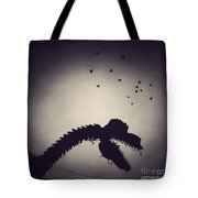 Dino In The City Tote Bag