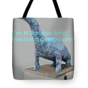 Dino The Bayville Dinosaur Tote Bag