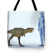 Dinosaur Aucasaurus Tote Bag