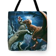 Dinosaur Canyon Tote Bag