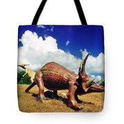 Dinosaurs Roaming Tote Bag