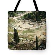 Dionysus Amphitheater Tote Bag