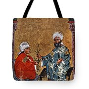 Dioscorides And Student Tote Bag