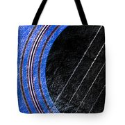 Diptych Wall Art - Macro - Blue Section 1 Of 2 - Giants Colors Music - Abstract Tote Bag