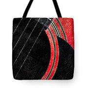 Diptych Wall Art - Macro - Red Section 2 Of 2 - Giants Colors Music - Abstract Tote Bag