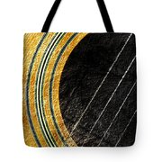 Diptych Wall Art - Macro - Gold Section 1 Of 2 - Vikings Colors - Music - Abstract Tote Bag