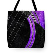 Diptych Wall Art - Macro - Purple Section 2 Of 2 - Vikings Colors - Music - Abstract Tote Bag