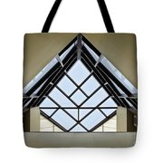 Directional Symmetry Tote Bag by Charles Dobbs