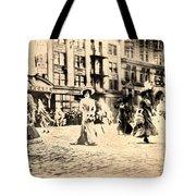 Directoire Gown - Philadelphia Mummers 1909 Tote Bag