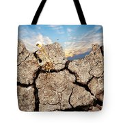 Dirt And Sky Tote Bag