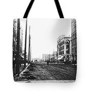 Downtown Dirt Spokane C. 1895 Tote Bag