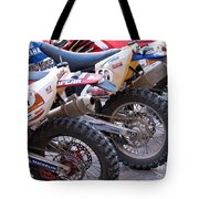 Dirt Bikes Tote Bag by Rick Piper Photography