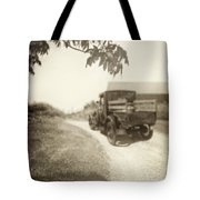 Dirt Drive Tote Bag