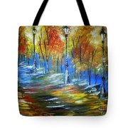 Dirt Track In Light's Tote Bag