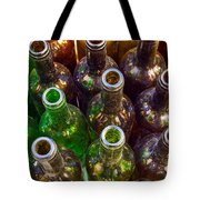 Dirty Bottles Tote Bag by Carlos Caetano