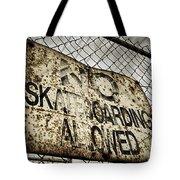 Disallowed Tote Bag