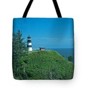 Disappointment Lighthouse In Washington State Tote Bag