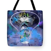 Discharged Tote Bag
