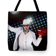 Disco Dj Tote Bag