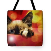 Disco Kitty 1 Tote Bag