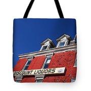 Discount Liquor Store Tote Bag