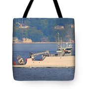 Discovery Bay Military Ops Ship Tote Bag