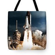 Discovery Hubble Launch Sts-31 Tote Bag