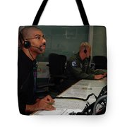 Discovery Space Shuttle Control Room Tote Bag
