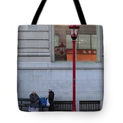 Discuss Our Bus Tote Bag