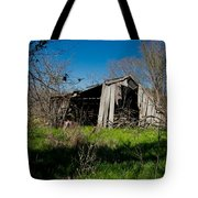 Disintegrating Barn Streetman Texas Tote Bag