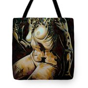 Disintegration Of Aestheticism  Tote Bag