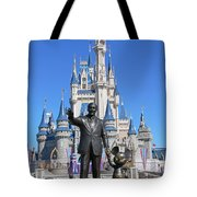 Disney And Mickey Tote Bag