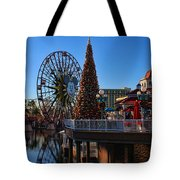 Disney California Adventure Christmas Tote Bag