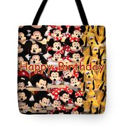 Disney Cuddlies Tote Bag
