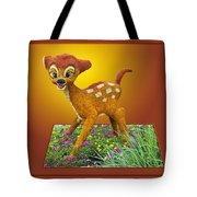 Disney Floral 03 Bambi Tote Bag